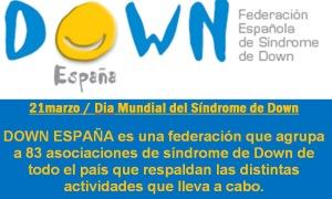 """Campaña """"Tengo síndrome de Down y no soy tan distinto a ti"""""""