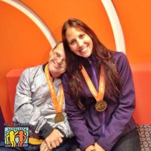 Primera persona con síndrome de Down que completa el maraton de New York