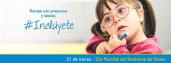 #Incluyete, la invitación de Down España para el 21 de marzo